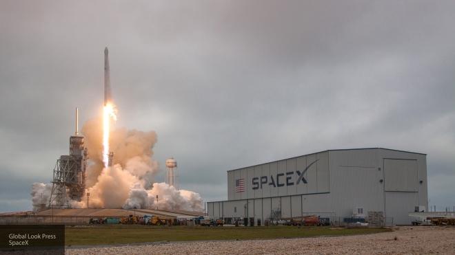 Запуск ракеты Falcon 9 соспутником EchoStar