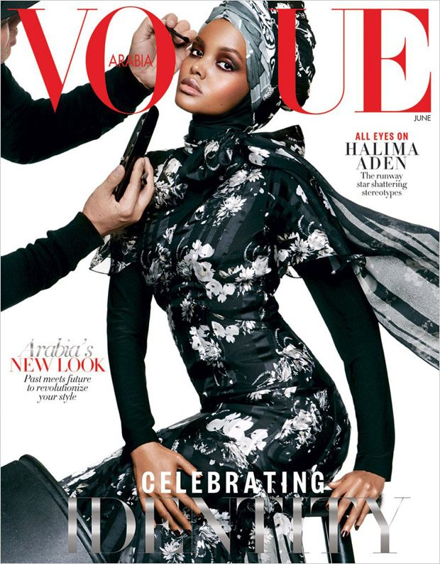 Halima Aden is the Cover Girl of Vogue Arabia June 2017 Issue (1 pics)