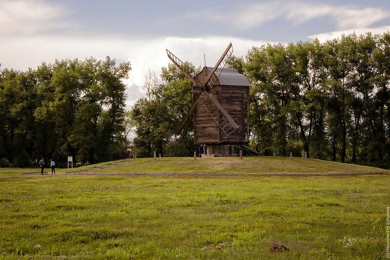 Ветряная мельница в Яковлево