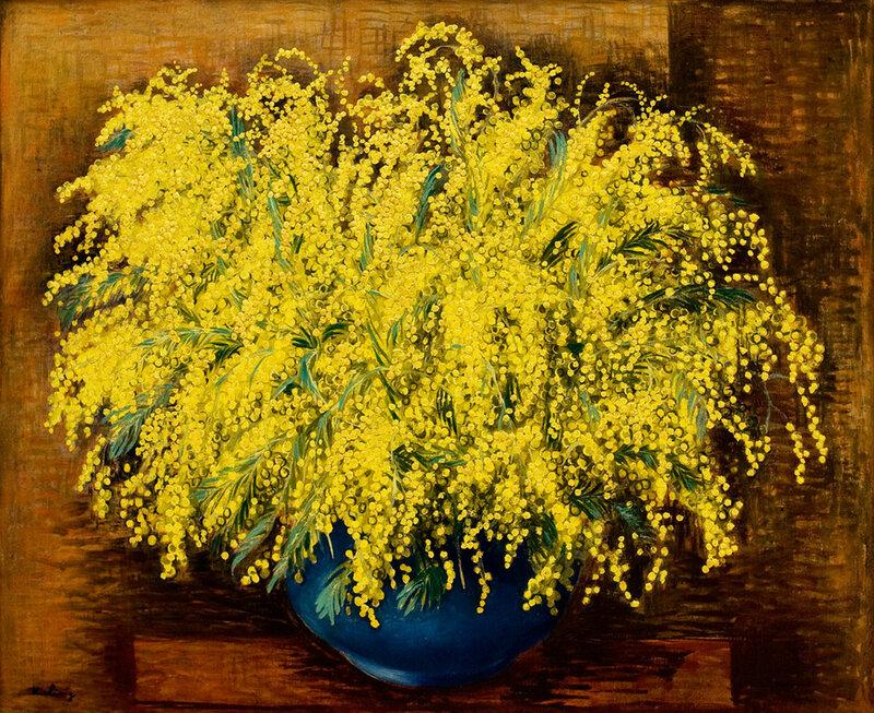 Mimosas, 1939 - Moise Kisling.jpg