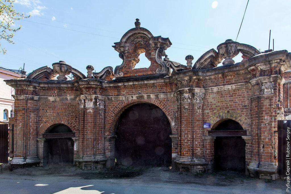 Ломовские ворота в Туле