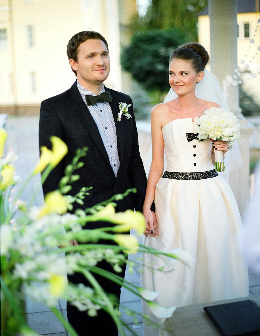 Стильная камерная свадьба