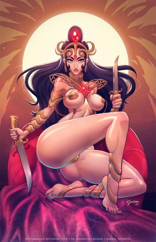 Hot Digital Illustrations by Gnomo Del Bosque