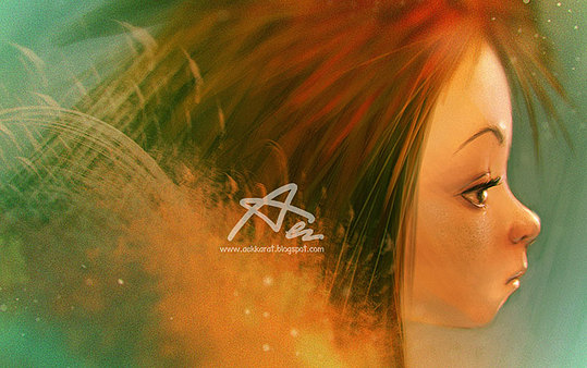 Colorful Portrait Illustrations by Akekarat Sumachaya