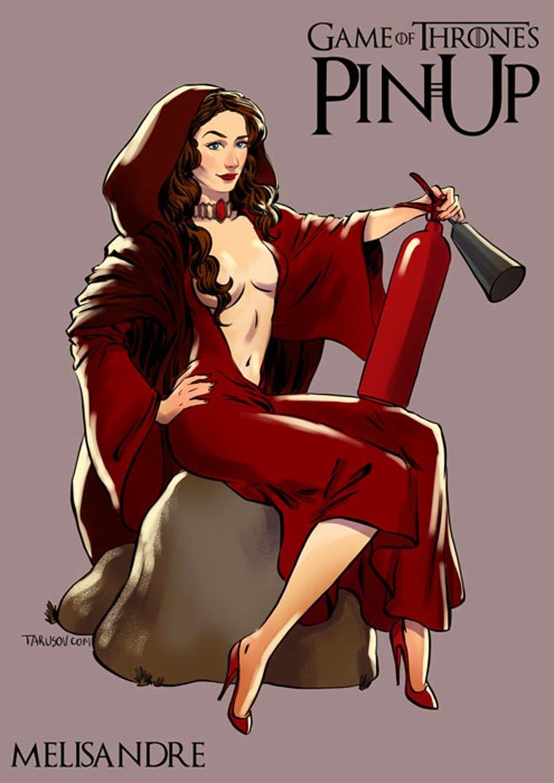 Les filles de Game of Thrones facon Pin Ups