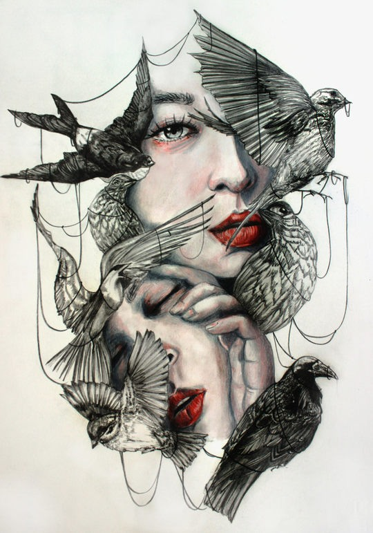 Traditional Illustrations by Gaia Alari