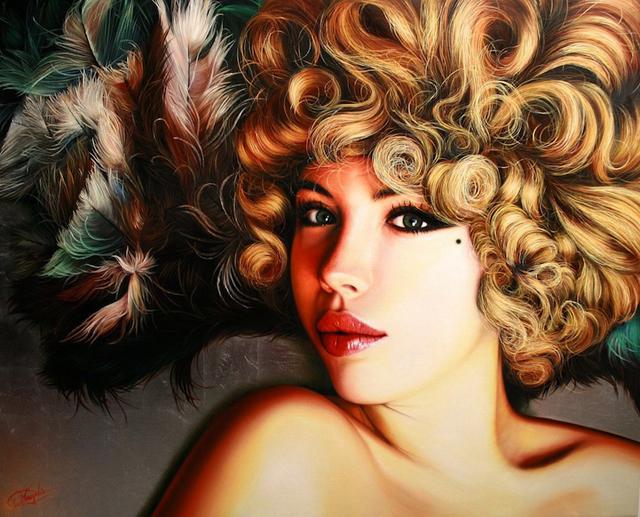 Lifelike Oil Paintings by Christiane Vleugels