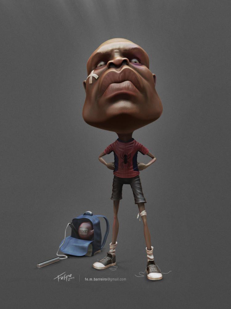 3D Illustrations by Felipe Mayer
