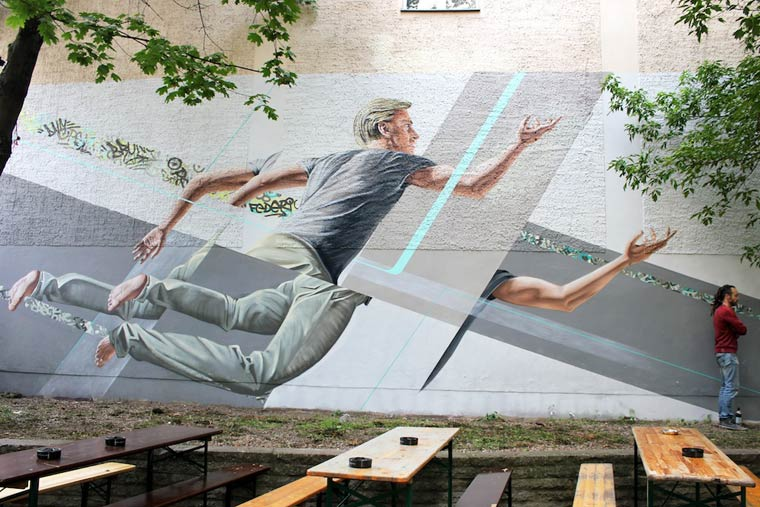 The Falling - The street art of James Bullough