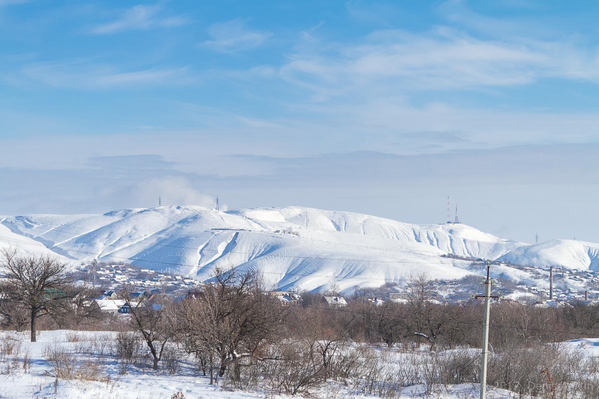 Вольск зима горы фото 2