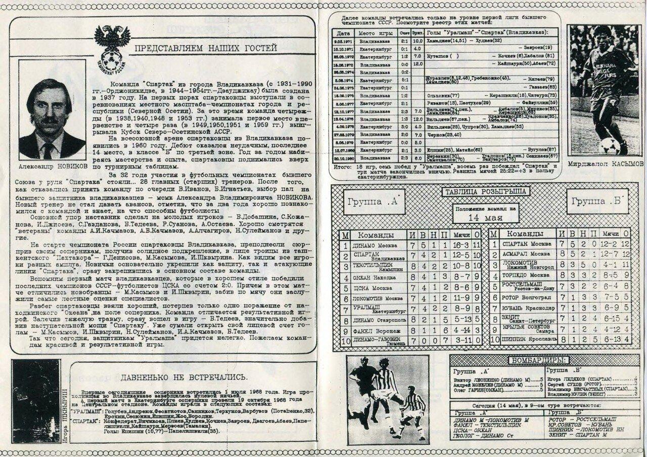 1992-05-14 Высшая лига Группа А 9 тур Уралмаш (Екатеринбург) - Спартак (Владикавказ)-2_Страница_2.jpg