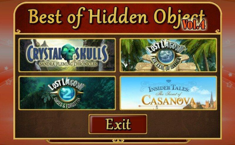 Best of Hidden Object Value Pack Vol. 4