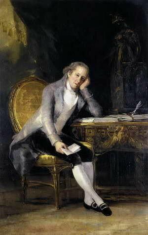 Франсиско Гойя. Портрет Гаспара Ховельяноса, 1798