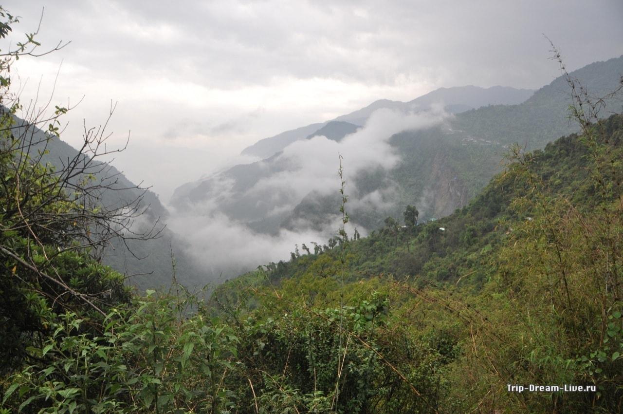Погода в горах, мягко говоря, изменчивая