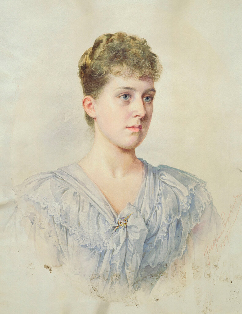 Josefine Swoboda (1861-1924)Принцесса Мария Луиза Шлезвиг-Гольштейн (1872-1956)