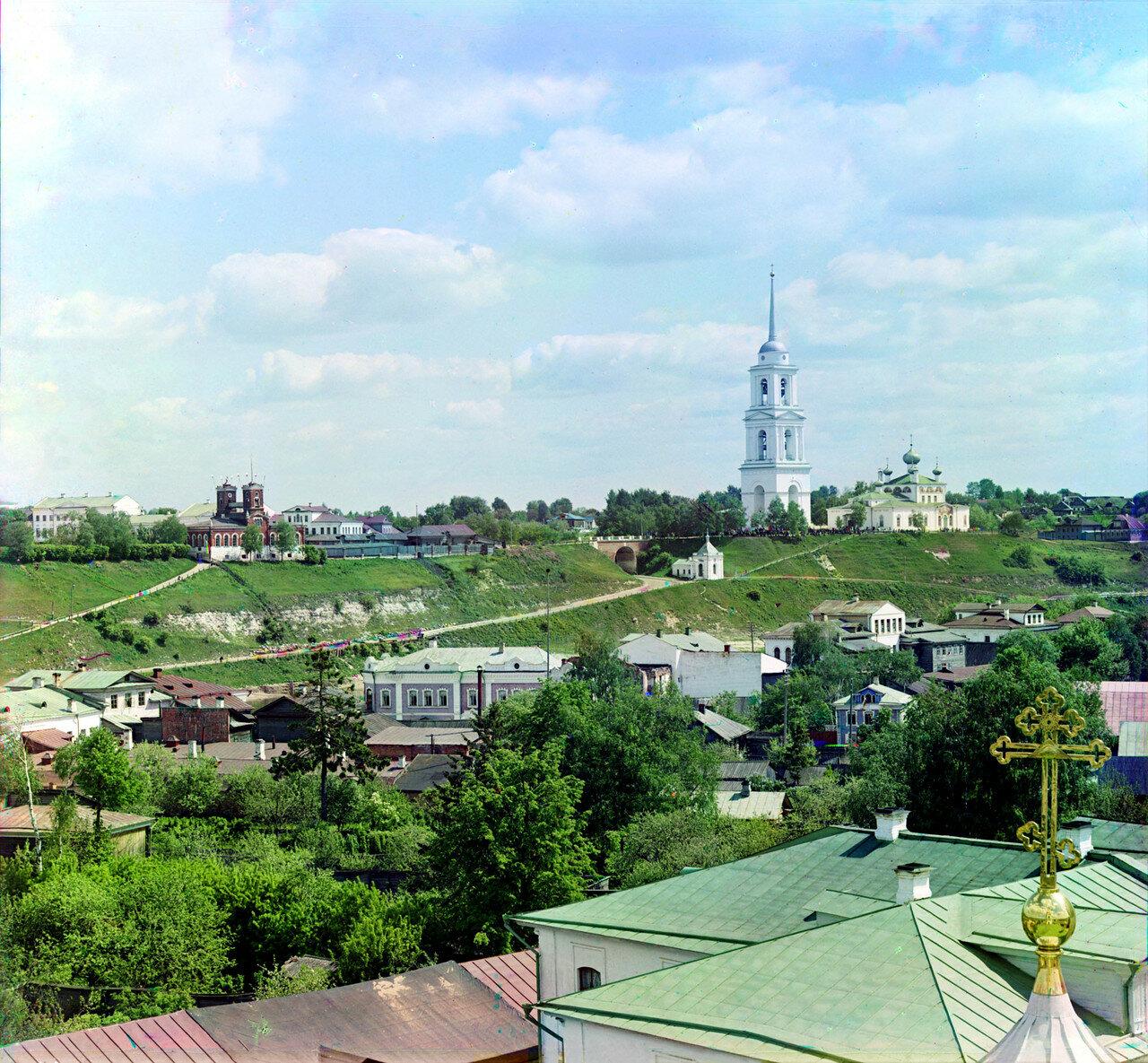 Князь-Федоровская сторона с колокольни Преображенского собора