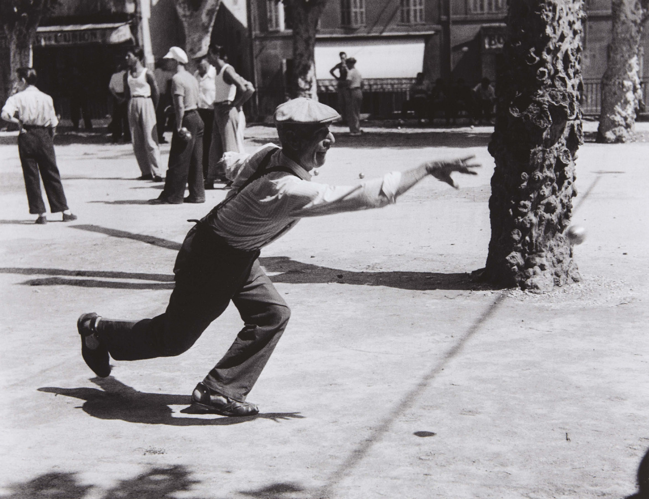 1947. Игра петанк (Обань)
