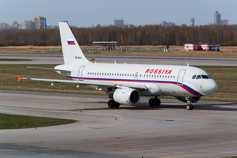 Airbus A319-111 (VQ-BAV) Россия D804196