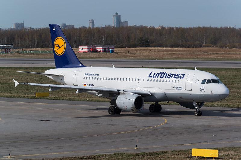 Airbus A319-114 (D-AILD) Lufthansa D804248
