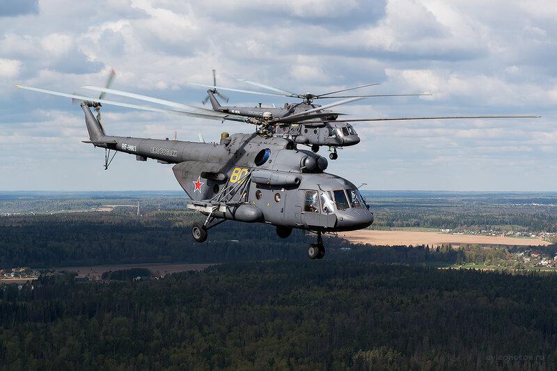 Миль Ми-8МТВ-5 (RF-91183 / 80 желтый) D804583