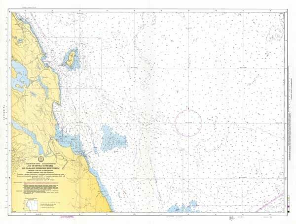 От острова Коневец до гавани Нижние Никулясы