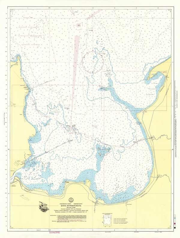 Карта Бухта Петрокрепость