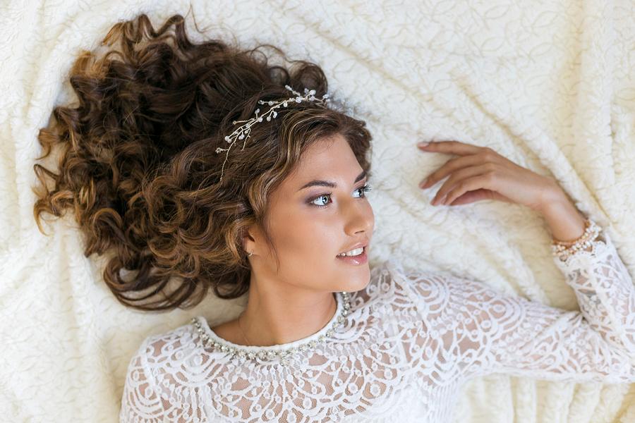 Красивая фотосессия невесты в студии город Иваново