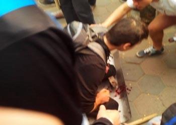 Жестокие столкновения в центре Одессы