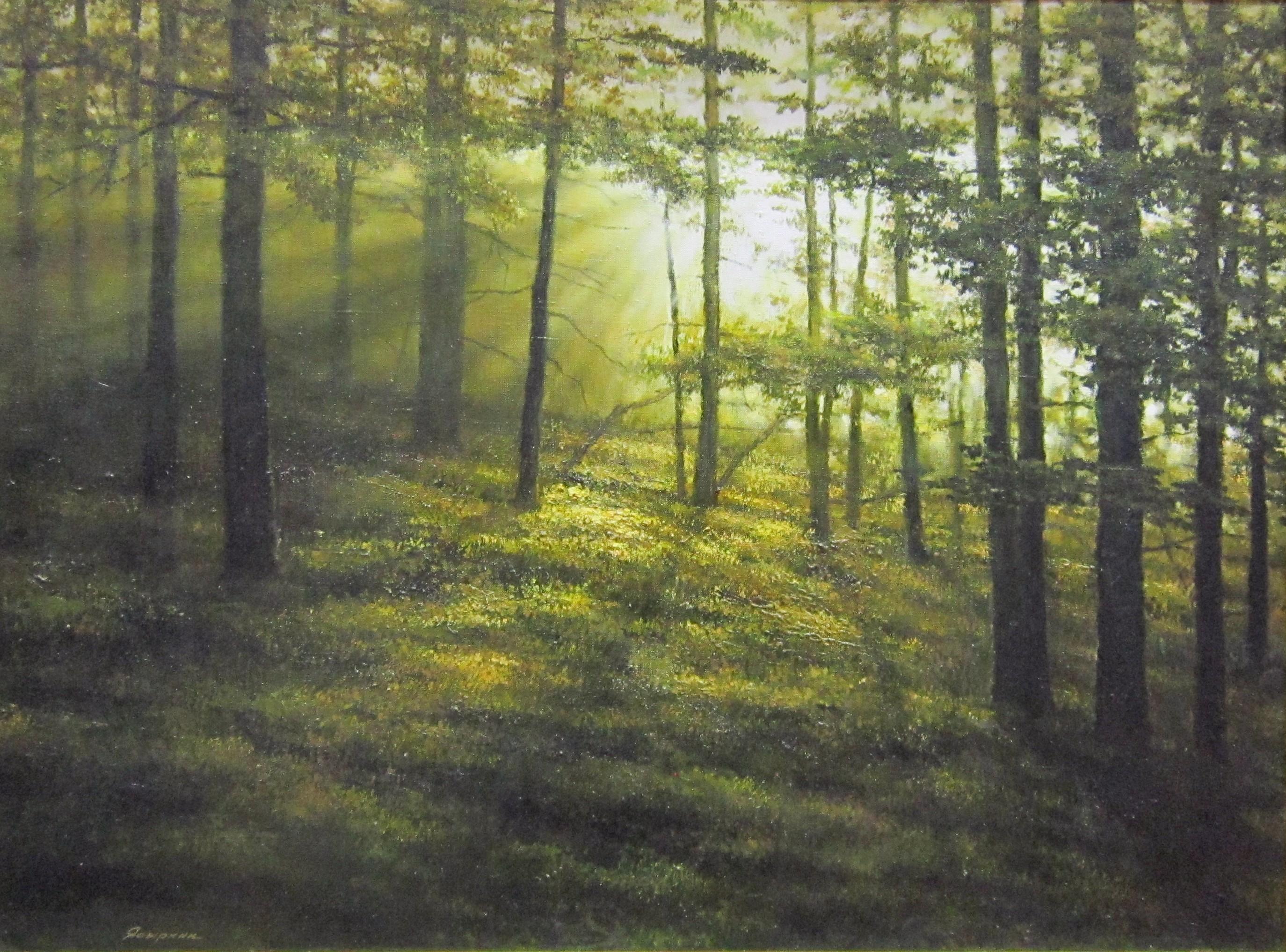 П. М. Ясыркин. Осенний пейзаж.