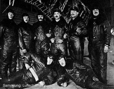 Экипаж цеппелина LZ-37.