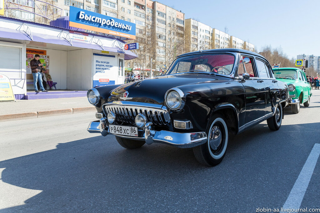 Парад Победы в г. Нижневартовск