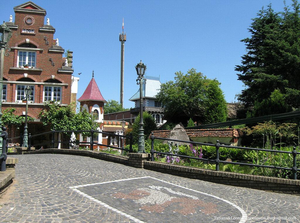 Хайде Парк.  Гамбург. Германия.