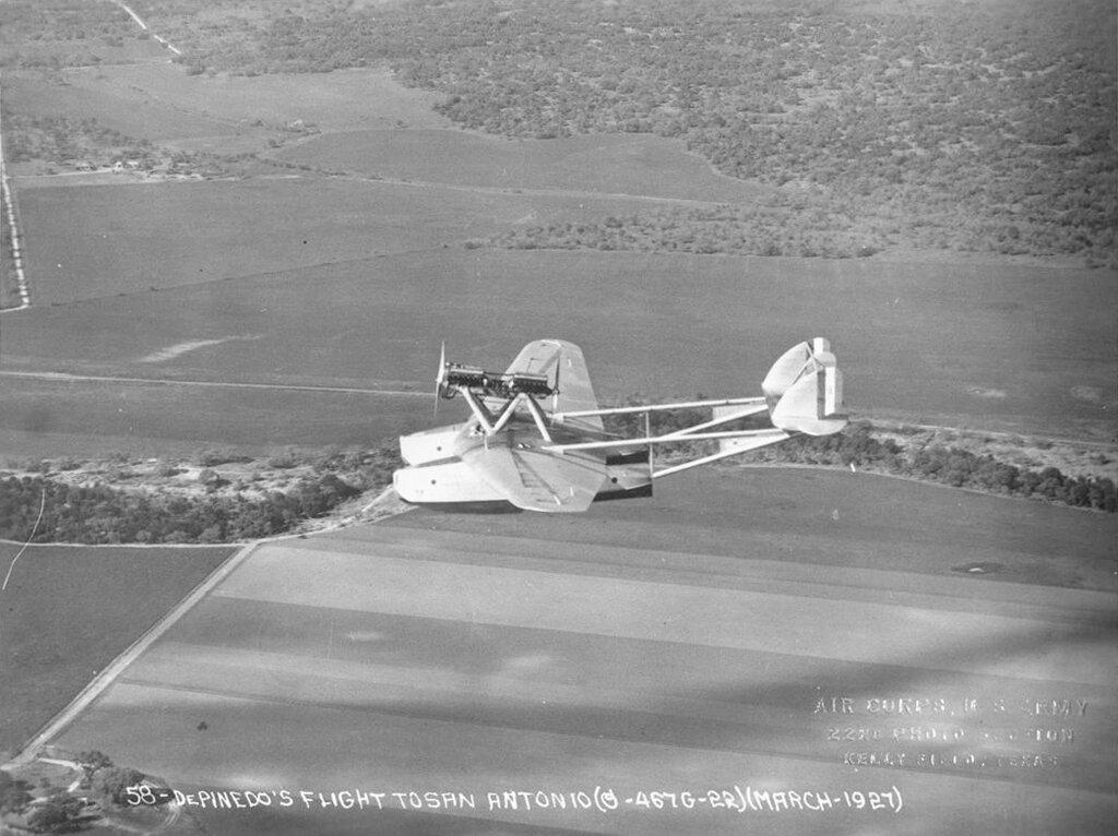 De Pinedo's Flight to San Antonio. March 1927 (Savoia-Marchetti S.55)