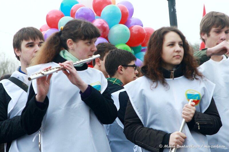 Первомай, Саратов, первое мая 2014 года