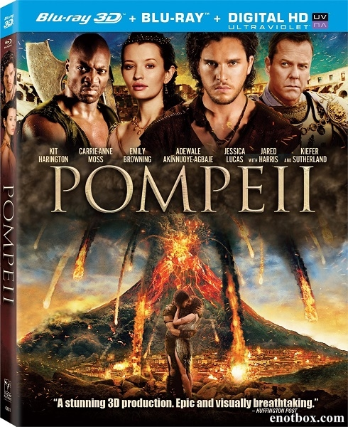 Помпеи / Pompeii (2014/BDRip/HDRip/PROPER/3D)