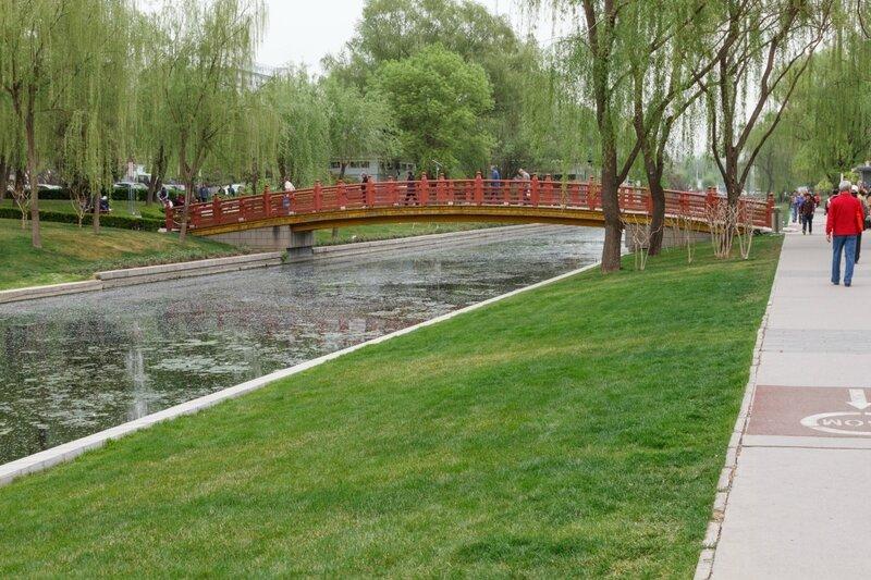Пешеходный мост, Пекин