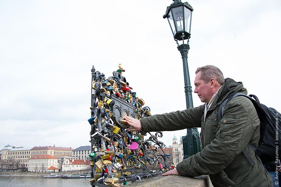 Чехия Прага путешествие карлов мост