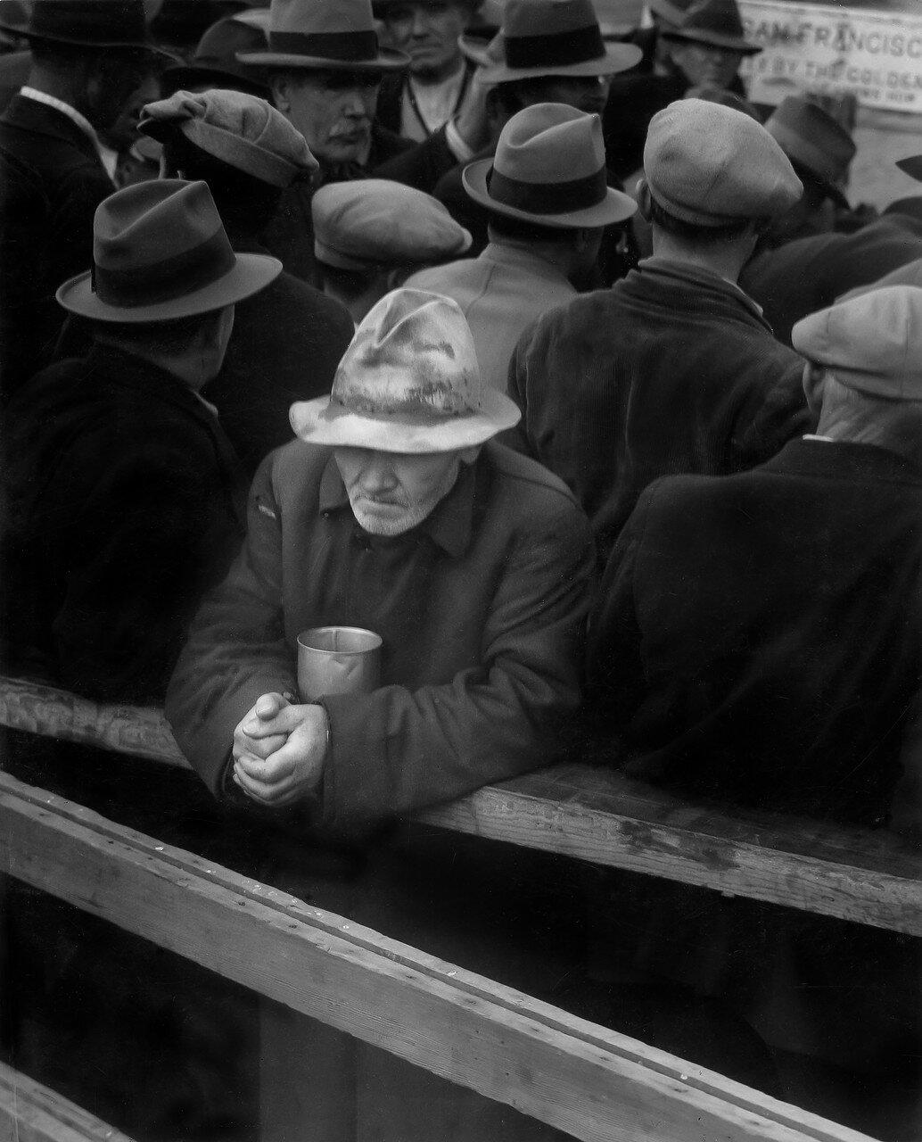 1936. Бездомный в Беркли