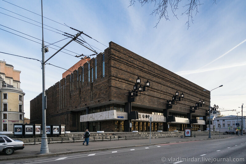 Новое здание МХАТ (1972—1973 гг.). Тверской бульвар, 22.
