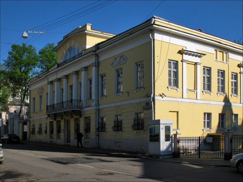 Усадьба Глебовых в Колымажном переулке