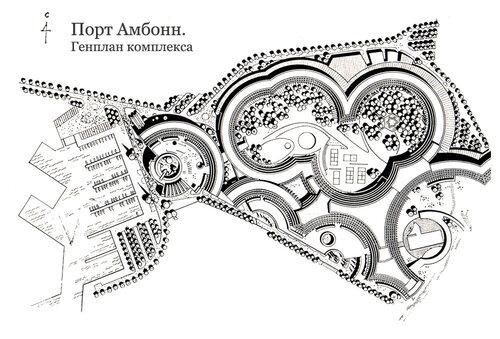 Порт Амбонн, генплан комплекса