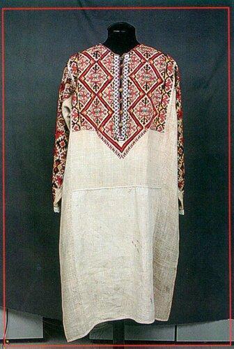 крапива платье 19 век