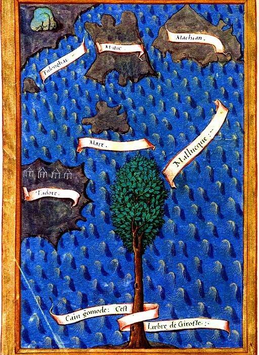 Карта Пигафетты