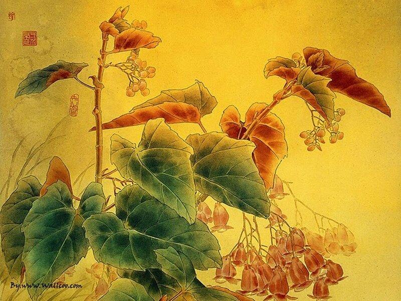 ...относятся как к живописи: состав акварельных красок.