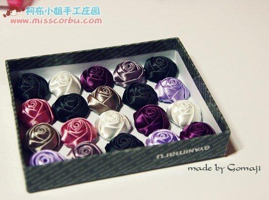 Фото мастер-класс по шитью бутонов роз