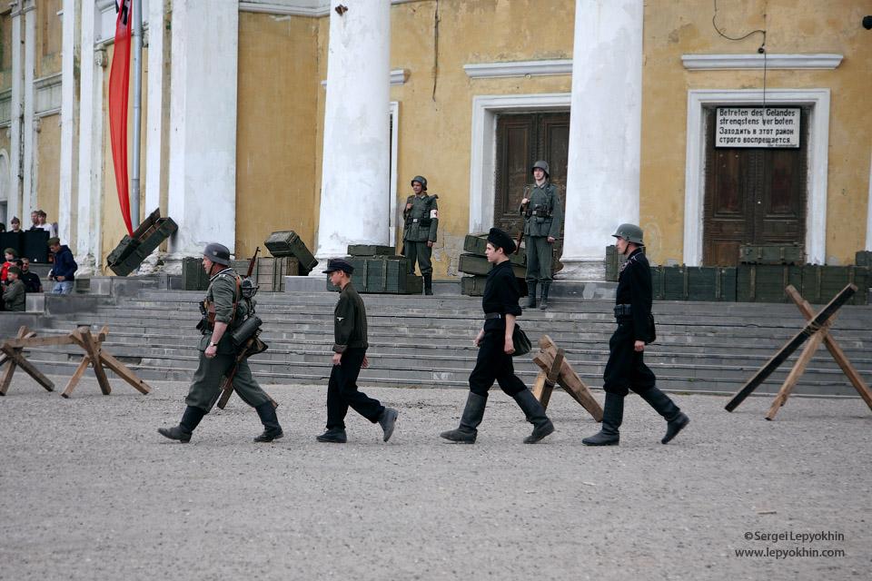 Военно-историческая реконструкция «Взятие Рейхстага» в Волгограде