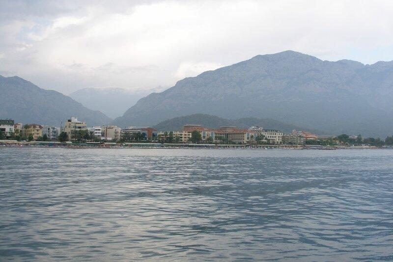 Вид на Кемер с моря