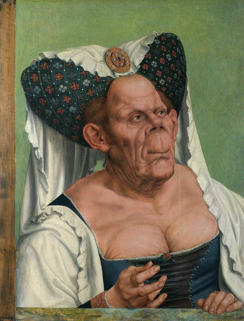 Quentin Matsys A Grotesque Old Woman (or the Ugly Duchess) ca. 1525