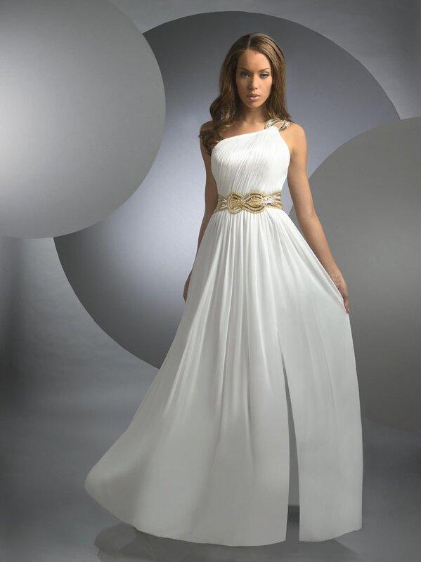 Свадебные платья в греческом стиле, фото 2012.