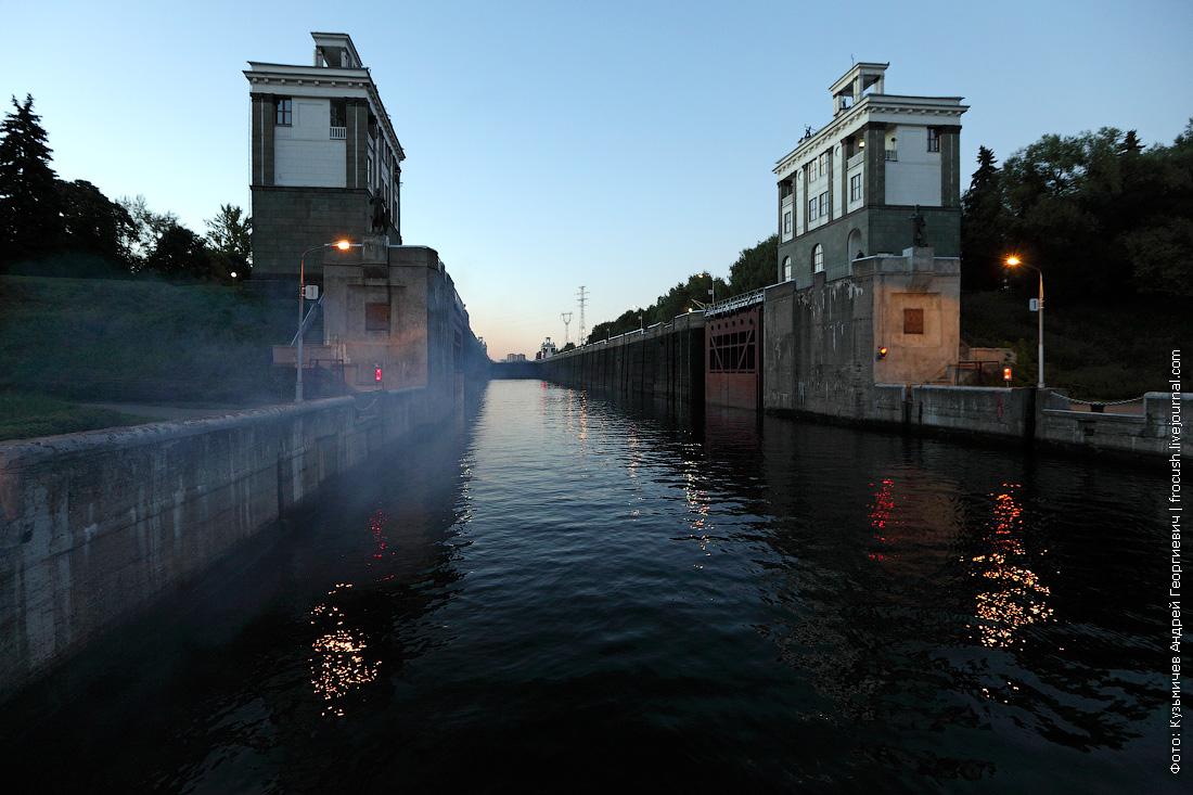 средние ворота шлюз №7 канала имени Москвы